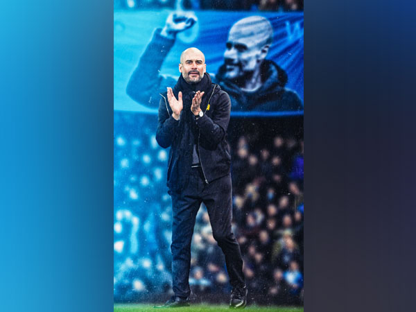 Pep Guardiola (Photo/ Manchester City Twitter)