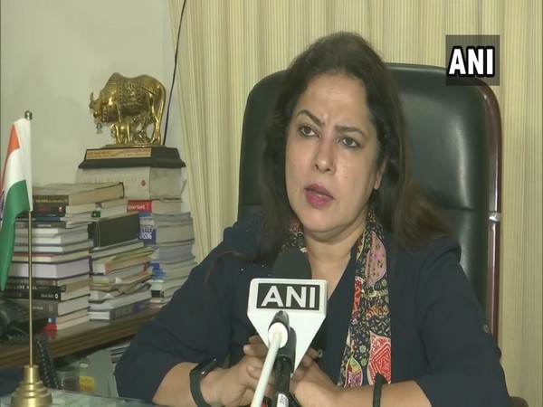 Meenakshi Lekhi, Chairperson of Joint Committee for Personal Data Protection Bill (Photo/ANI)