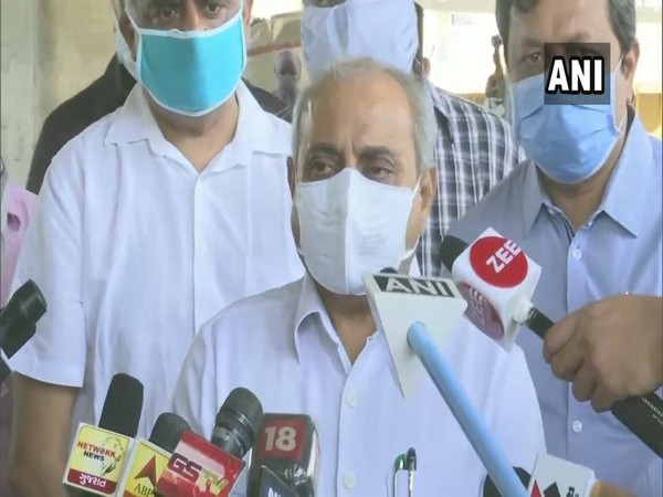 Gujarat Deputy Chief Minister Nitin Patel (photo/ANI)