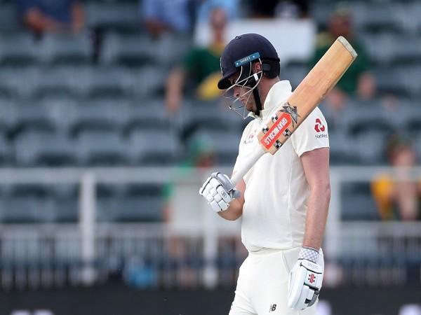 England cricketer Dom Sibley