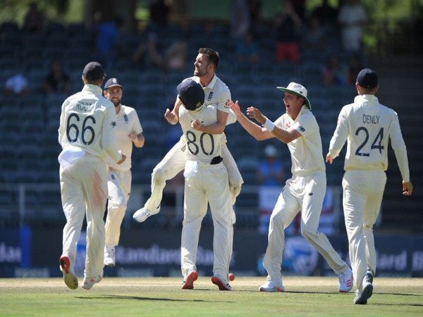 Wood picked up four wickets while Stokes and Stuart Board clinched two wickets each. (Photo/ ICC Twitter)