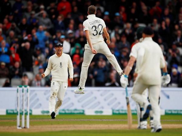 England bowler Craig Overton