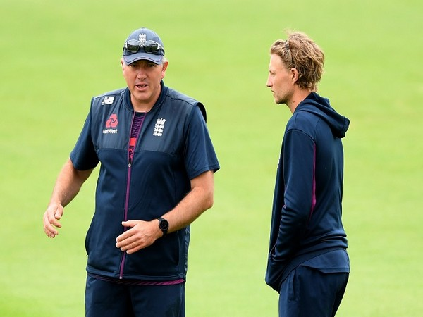England coach Chris Silverwood and Test skipper Joe Root (file image)