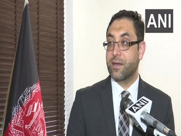 Afghan envoy to India Farid Mamundzay talking to ANI on Friday.