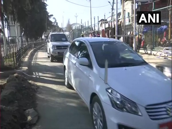 A group of diplomats from foreign missions arrived in Srinagar on Wednesday.