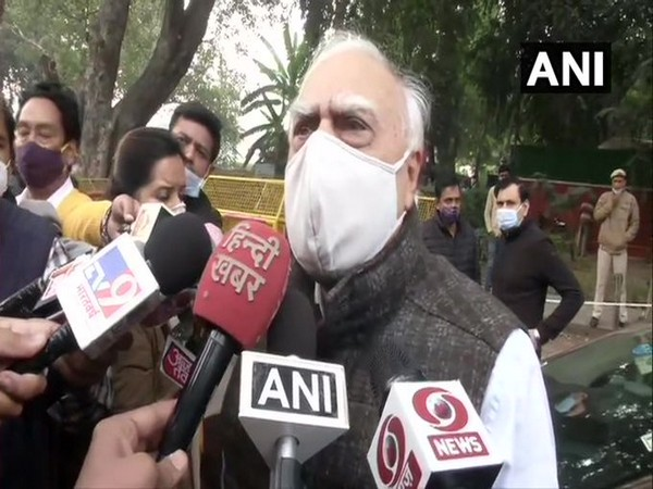 Senior Congress leader Kapil Sibal (Photo/ANI)