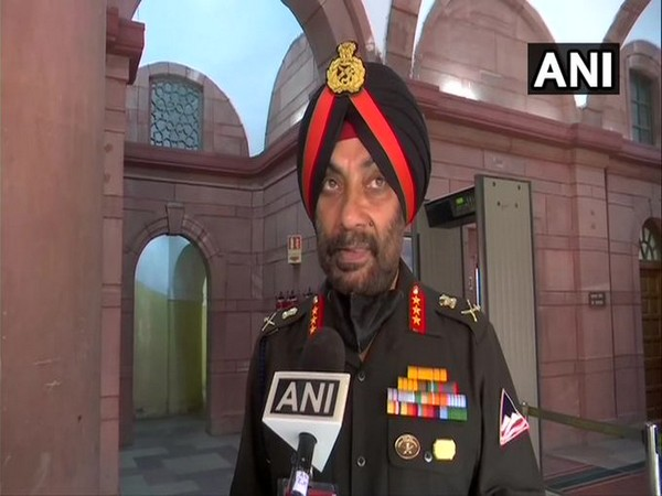 Lt General Harpal Singh Director-General of Border Roads Organisation (Photo/ANI)