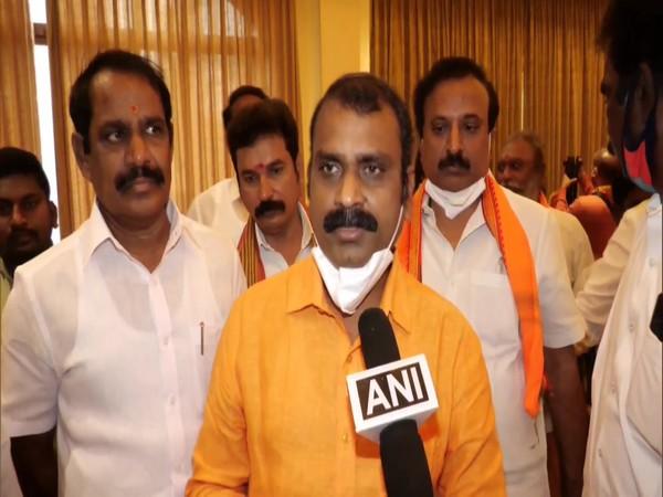 BJP Tamil Nadu chief L Murugan (Photo/ANI)