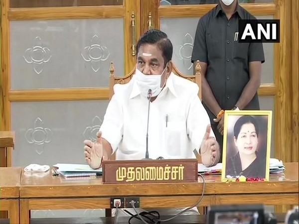 Tamil Nadu Chief Minister Edappadi K Palaniswami (Photo/ANI)