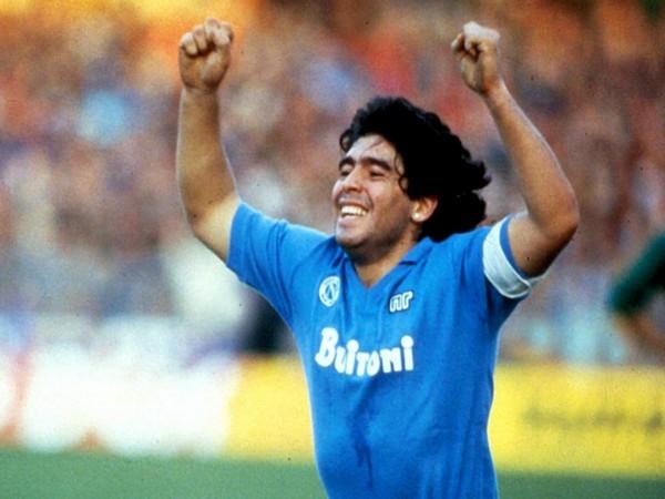 Diego Maradona (Photo/ Napoli Twitter)