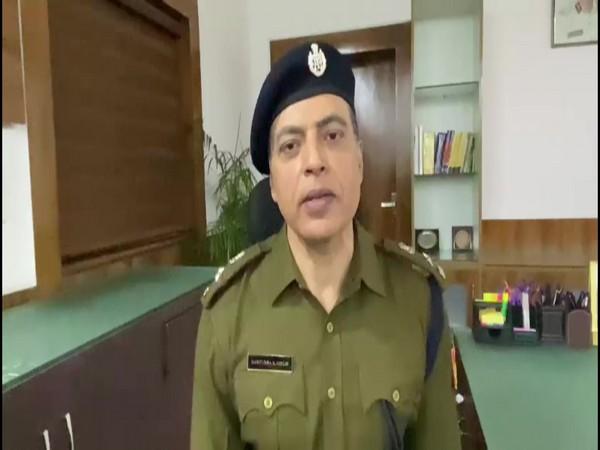 Deputy Commissioner of Police, Delhi (Railway) Harendra Singh.