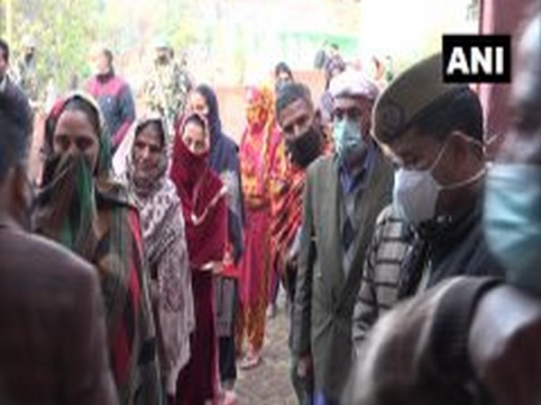 Visual from Khoon village in Udhampur district. (Photo/ANI)