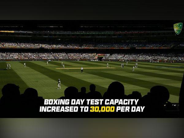 Melbourne Cricket Ground (Photo/ Cricket Australia Twitter)