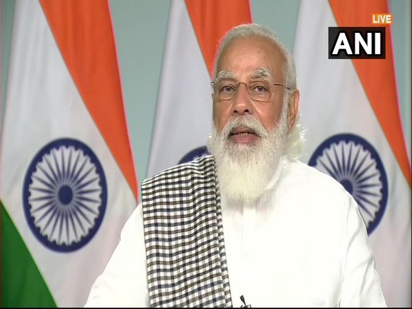 Prime Minister Narendra Modi speaking virtually at the International Bharati Festival on Friday