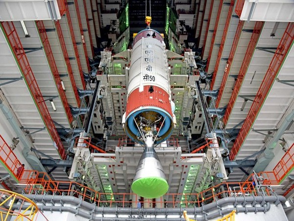 PSLV-C50 is scheduled to launch CMS-01, a communication satellite on December 17. (Photo: ISRO)