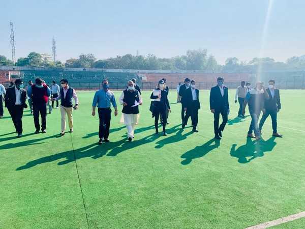 Rourkela gearing up to host FIH Odisha Men's Hockey World Cup India 2023 (Photo/ Hockey India Twitter)