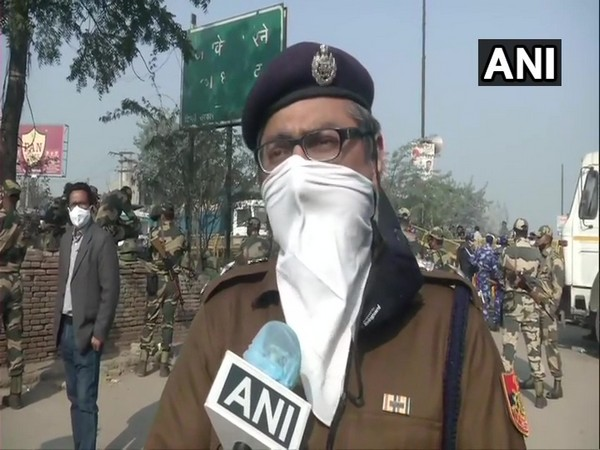 Gaurav Sharma, Deputy Commissioner of Police, Outer North-Delhi in conversation with ANI. (Photo/ANI)