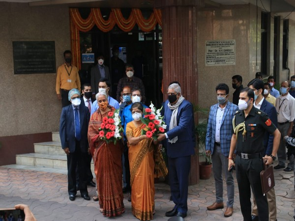 West Bengal Governor Jagdeep Dhankhar inaugarating Phase III trial of Covaxin in Kolkata (Photo/Twitter)