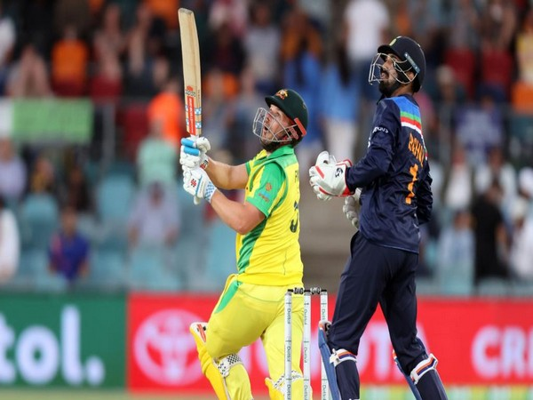 KL Rahul kept wickets for India in the ODI series against Australia. (Photo: ICC twitter)