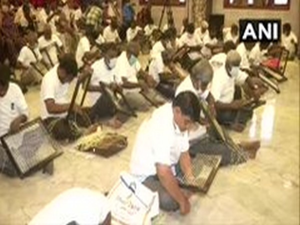 Visually challenged persons from Chennai attempted the UNICO Book Of World Records