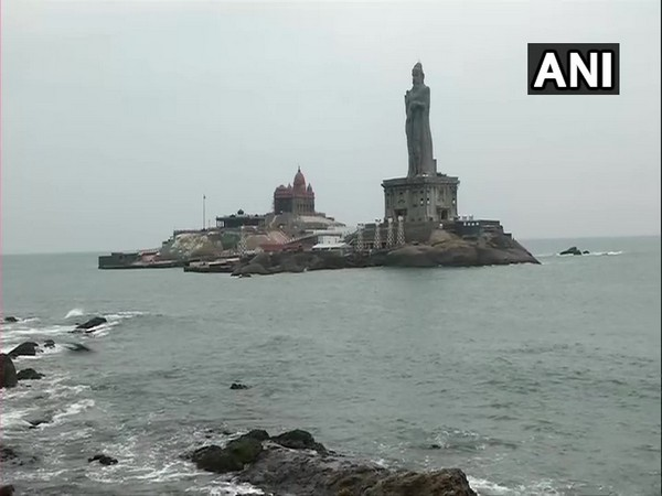The calm before the storm. Visuals from Kanniyakumari, Tamil Nadu. (Photo/ANI)
