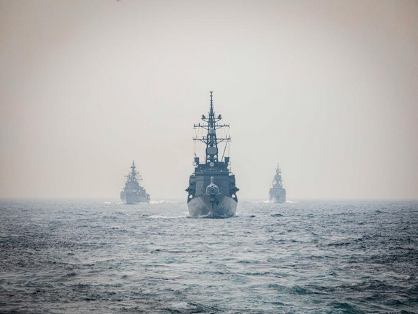 On November 20, India, US, Japan, and Australia concluded 24th edition of the Malabar series of multilateral naval exercises. (Twitter/Kenneth Juster)