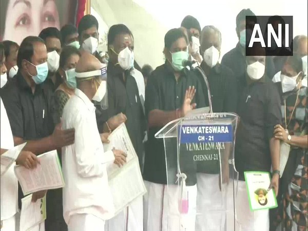 AIADMK leaders (Photo/ANI)