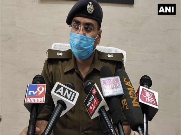 Kuldeep Singh, Superintendent of Police (SP), Aligarh (Photo/ANI)