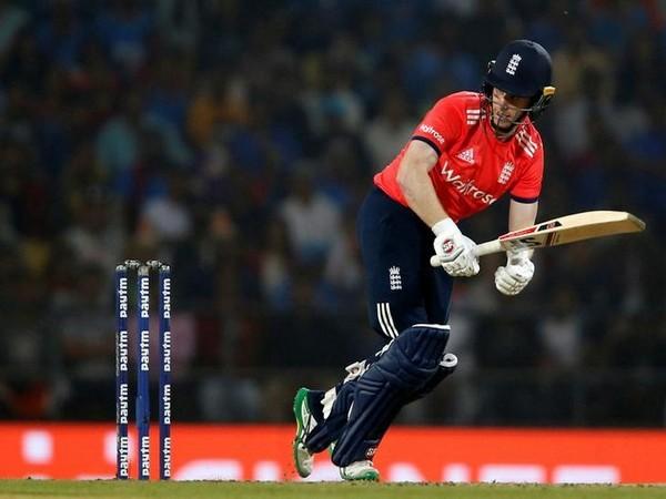 England's cricket captain Eoin Morgan