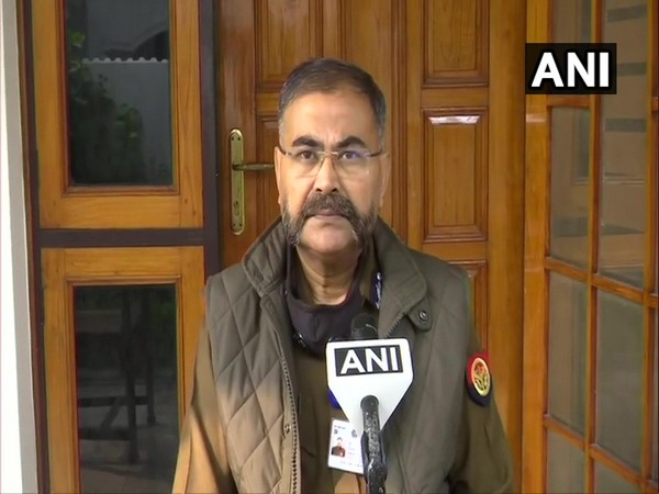 Prashant Kumar, Additional Director General (ADG) of Law and Order, UP (Photo/ANI)