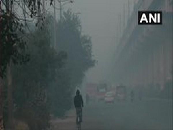 Visual from Rohtak Road at Mundka in New Delhi (Photo/ANI)