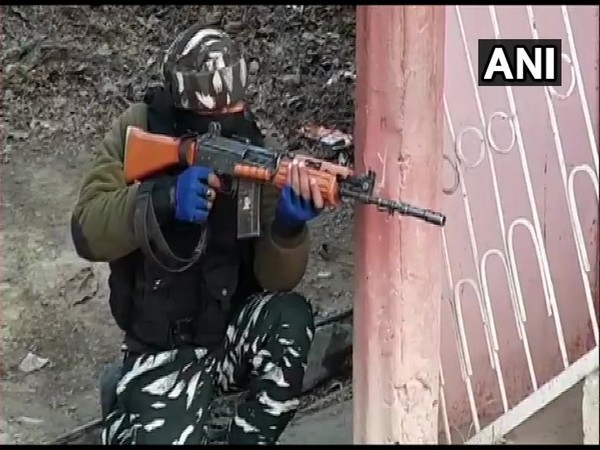 Visuals from the encounter site (Photo/ANI)
