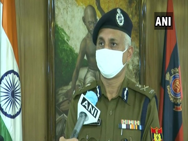 Delhi Police Commissioner SN Srivastava in conversation with ANI.