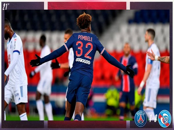 Timothee Pembele (Photo/ PSG Twitter)