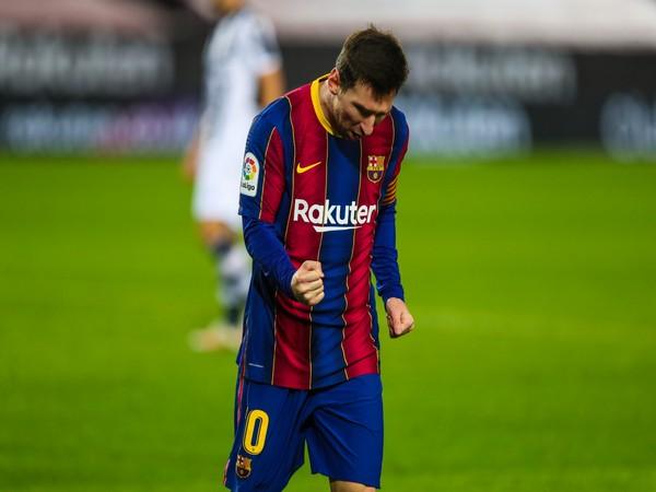 Argentine striker Lionel Messi (Photo/ Barcelona Twitter)