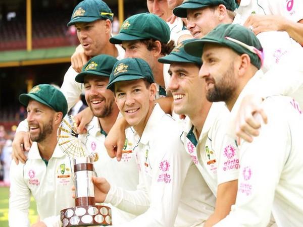 Australia Test team (Photo/ ICC Twitter)