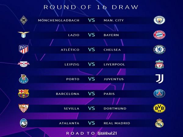 Barcelona to face PSG, Bayern Munich to take on Lazio (Photo/ UEFA Champions League Twitter)