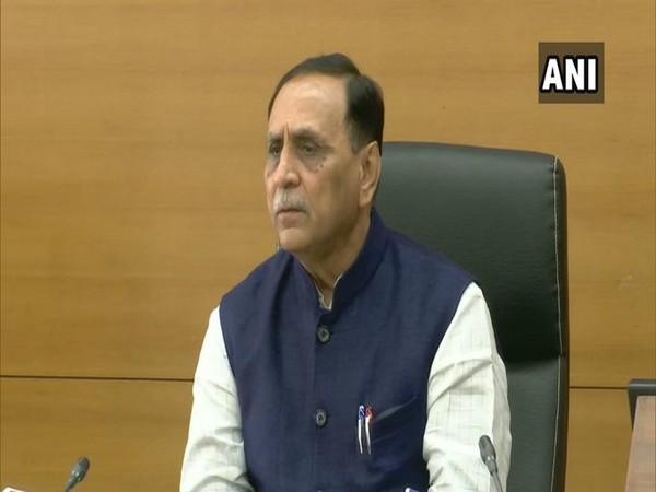Gujarat Chief Minister Vijay Rupani (File Photo/ANI)