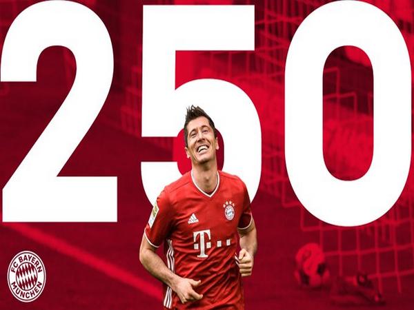 Bayern Munich striker Robert Lewandowski (Photo/ Bayern Munich Twitter)