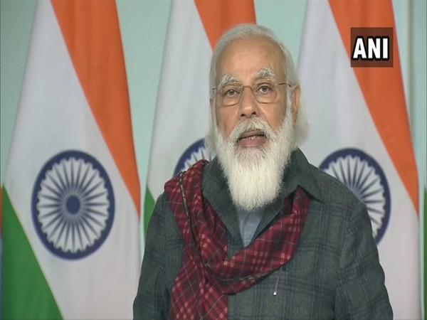 Prime Minister Narendra Modi while delivering the keynote address at ASSOCHAM Foundation Week 2020 (Photo/ANI)