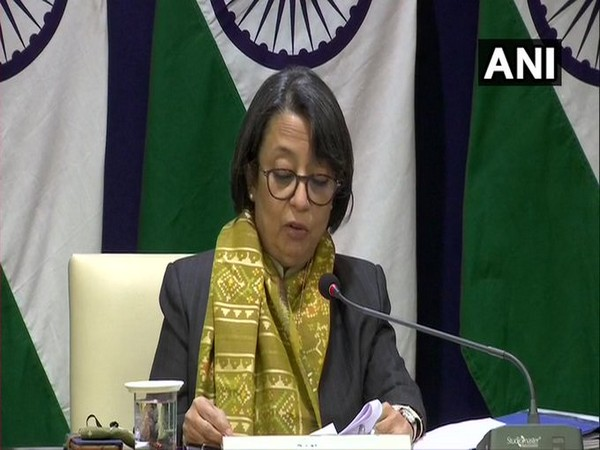 Riva Ganguly, Ministry of External Affairs Secretary East, speaking after the Indian-Vietnam virtual Summit on Monday. Photo/ANI