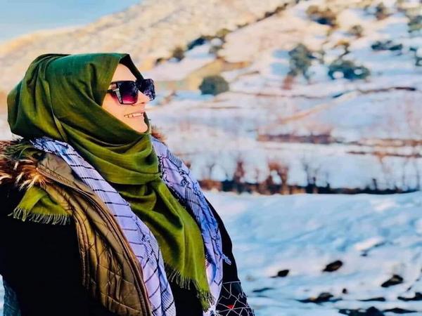 Afghanistan rights activist Freshta Kohistani