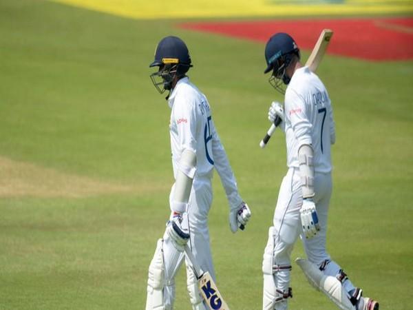 Dasun Shanaka and Kasun Rajitha in action against South Africa (Photo/ ICC Twitter)