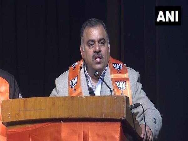 Jammu and Kashmir BJP in-charge Tarun Chugh (Photo/ANI)