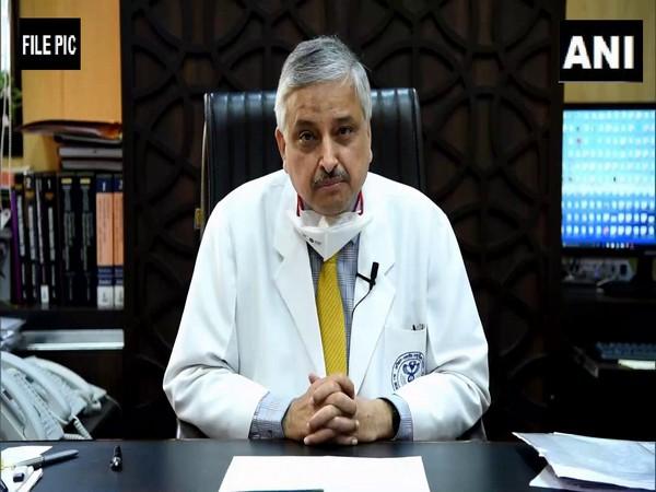 AIIMS director Dr Randeep Guleria (Photo/ANI)