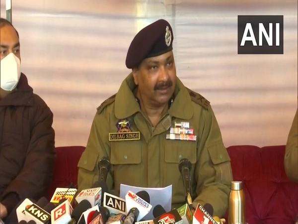 Jammu and Kashmir Police Dilbag Singh. (Photo/ANI)