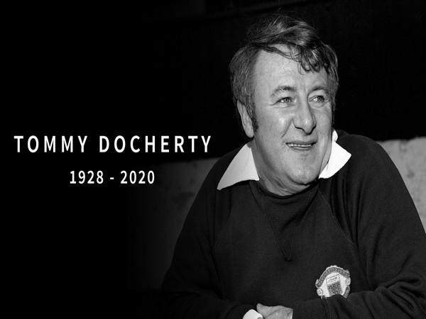 Tommy Docherty (Photo/ Manchester United Twitter)