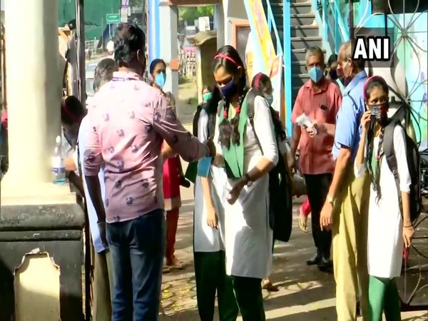 Schools reopen for class 10th and 12th students in Thiruvananthapuram