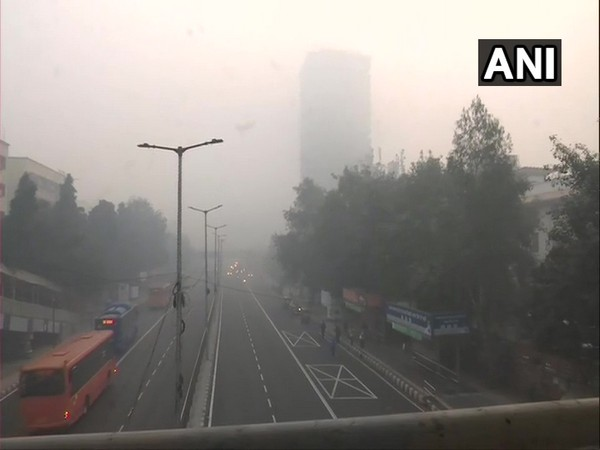 The air quality in Delhi remained in severe category on Friday. (Photo/ANI)