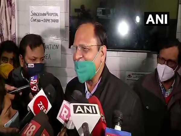 Delhi Health Minister Satyender Jain (Photo/ANI)